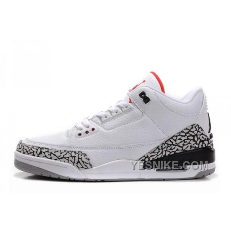 nike air jordan 3 retro fire red