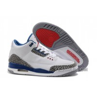 Big Discount! 66% OFF! For Sale Air Jordan 3 (III) White/True Blue Online