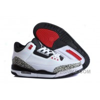 Big Discount! 66% OFF! For Sale Air Jordan 3 (III) White/Black-Wolf Grey-Infrared 23