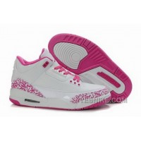 Big Discount! 66% OFF! Reduced Wholesale Cemenst Cemenst Air Jordan 3 Iii Retro White Pink Womens Shoes Online YNPJ7