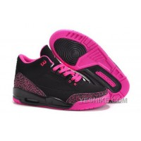 Big Discount! 66% OFF! Sale Nike Air Jordan Iii 3 Retro Womens Shoes Special Black Pink CE8xN