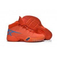 Big Discount! 66% OFF! Air Jordan 30 XXX Playoffs Orange Blue PE 2016 66EXH