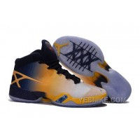 "Big Discount! 66% OFF! Air Jordan 30 XXX ""Cal Golden Bears"" White-Navy/Yellow 2016 Xfhmh"