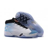"Big Discount! 66% OFF! Air Jordan 30 XXX ""UNC"" White/Black-University Blue PRaFz"