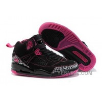 Big Discount! 66% OFF! Hot Air Jordan 3.5 Spizike Retro Womens Shoes Outlet Online Black Pink S24pM