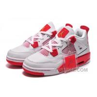 "Big Discount! 66% OFF! Online For Sale Carmelo Anthony Air Jordan 4 ""Melo"" PE White Red"
