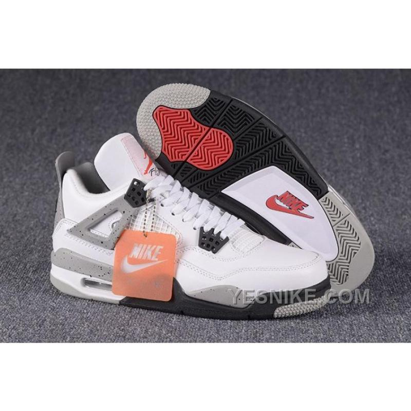 low priced a80dc 1f64f ... norway 2016 nike air jordan 4 retro white cement ec83f dcd73