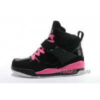 Big Discount! 66% OFF! Reduced Nike Air Jordan 4.5 Womens Shoes Online Black Pink XdMAS