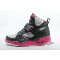 Big Discount! 66% OFF! Buy Nike Air Jordan 4.5 Womens Shoes Online Grey Pink TwDGR