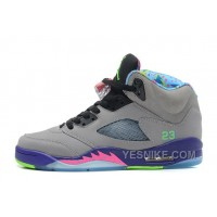 "Big Discount! 66% OFF! Air Jordan 5 Retro ""Bel-Air"" Cool Grey/Club Pink-Court Purple-Game Royal For Sale"