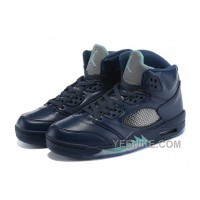"Big Discount! 66% OFF! 2015 Air Jordan 5 Retro ""Hornets"" Midnight Navy For Sale"