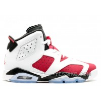 Big Discount! 66% OFF! Air Jordan 6 Retro Bg Girls Carmine Sale