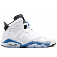 Big Discount! 66% OFF! Air Jordan 6 Retro Bg Girls Sport Blue Sale