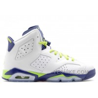 Big Discount! 66% OFF! Air Jordan 6 Retro Gg Girls Fierce Green Sale