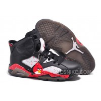 """Big Discount! 66% OFF! Air Jordans 6 Retro Custom """"Angry Birds"""" Black-White/Red Specked For Sale Online"""