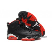 Big Discount! 66% OFF! Air Jordan 6 Retro Black Red Sale Cheap Online