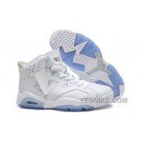 Big Discount! 66% OFF! Air Jordan 6 Retro All White For Sale Online Low Price