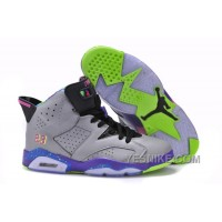 Big Discount! 66% OFF! Air Jordan Retro 6 Cool Grey/Court Purple For Sale Online