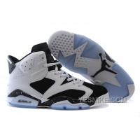 "Big Discount! 66% OFF! Air Jordan 6 (VI) Retro ""Oreo"" White/Black-Blanc-Noir For Sale"