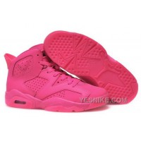 Big Discount! 66% OFF! Nike Air Jordan Vi 6 Retro Womens Shoes Hot All Pink High MjYr6