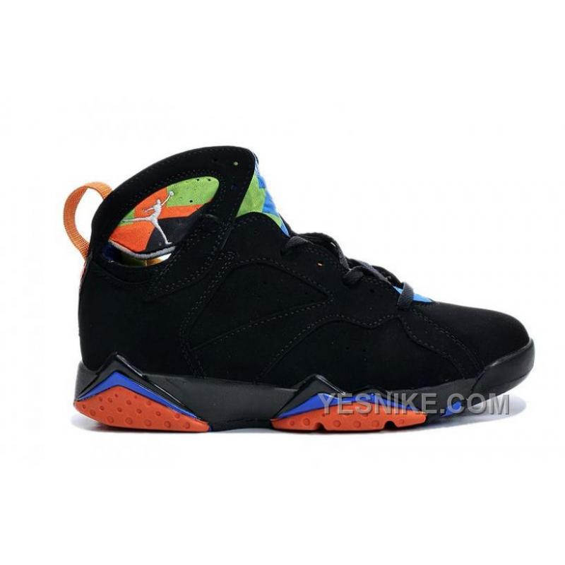 Cheap New Style Air JD 7 Black Orange Online