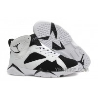 Big Discount! 66% OFF! Air Jordan 7 (VII) White-Black For Sale Online