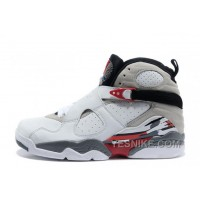 "Big Discount! 66% OFF! Air Jordan 8 Retro ""Bugs Bunny"" White/Black-True Red For Sale Online"