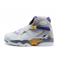 "Big Discount! 66% OFF! Air Jordan 8 Retro ""Kobe Bryant Lakers Home"" PE For Sale Online"