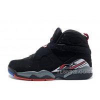 "Big Discount! 66% OFF! Air Jordan 8 Retro ""Playoffs"" Black/True Red-White For Sale Online"
