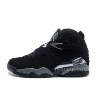 Big Discount! 66% OFF! Air Jordan 8 Retro Black/Chrome Cheap For Sale Online