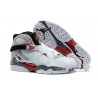 "Big Discount! 66% OFF! Air Jordans 8 Retro ""Bugs Bunny"" White/Black-True Red For Sale"