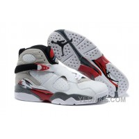 "Big Discount! 66% OFF! Air Jordan 8 Retro ""Bugs Bunny"" White/Black-True Red For Sale"