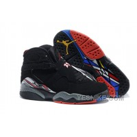 "Big Discount! 66% OFF! Air Jordan 8 Retro ""Playoffs"" Black/True Red-White For Sale"