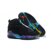 Big Discount! 66% OFF! Air Jordans 8 Retro Black/Dark Concord-Anthracite-Aqua Tone For Sale 7cBxe