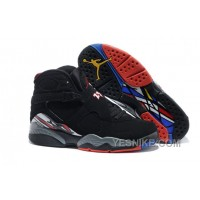 "Big Discount! 66% OFF! Air Jordans 8 Retro ""Playoffs"" Black/True Red-White For Sale NhYtN"