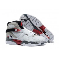 "Big Discount! 66% OFF! Air Jordan 8 Retro ""Bugs Bunny"" White/Hyper Blue-True Red-Flint Grey Mens"