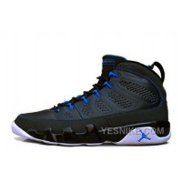 Big Discount! 66% OFF! Air Jordan 9 Retro Black/Photo Blue-White Cheap For Sale Online