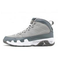 Big Discount! 66% OFF! Air Jordan 9 Retro Medium Grey/Cool Grey-White For Sale Online