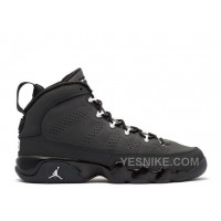 Big Discount! 66% OFF! Air Jordan 9 Retro Bg Girls Anthracite Sale