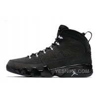 Big Discount! 66% OFF! 2015 Air Jordan 9 Retro Anthracite/White-Black For Sale