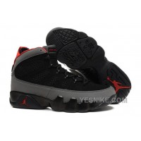 Big Discount! 66% OFF! 2015 Air Jordan 9 Retro Charcoal Black Charcoal Red Cheap For Sale Online