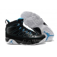 Big Discount! 66% OFF! Air Jordan 9 (IX) Black/Photo Blue-White For Sale