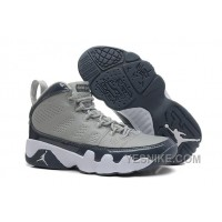 Big Discount! 66% OFF! Air Jordan 9 (IX) Retro Medium Grey/Cool Grey-White For Sale