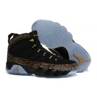 "Big Discount! 66% OFF! Air Jordans 9 Retro DB ""Doernbecher"" Gold Black Custom For Sale PmcNm"