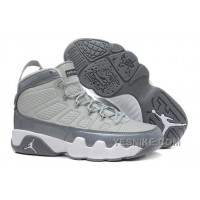 Big Discount! 66% OFF! Air Jordan 9 Medium Grey/Cool Grey-White For Sale Mens Size
