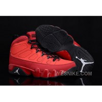 "Big Discount! 66% OFF! Buy New Air Jordan 9 ""Motorboat Jones"" Challenge Red/White-Black"