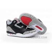 Big Discount! 66% OFF! Air Jordan 3 Enfant Noir/Blanc