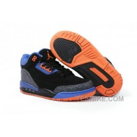 Big Discount! 66% OFF! Air Jordan 3 Enfant Noir/Bleu