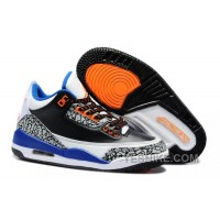 Big Discount! 66% OFF! Air Jordan 3 Enfant Noir/Blanc/Bleu