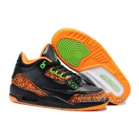 Big Discount! 66% OFF! Air Jordan 3 Enfant Noir/Orange